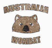 Wombat vintage design - Australian animal  Kids Tee