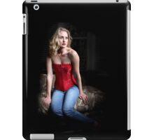 Sexy Blond Sitting iPad Case/Skin