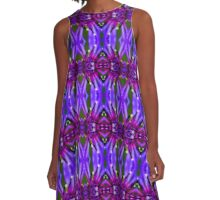 Blooming Knapweed (VN.50) A-Line Dress