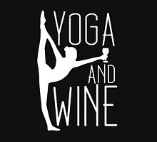 yoga and wine Women's Tank Top