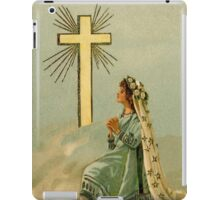 Vintage Faith devotional religious iPad Case/Skin