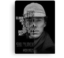Sherlock Holems Canvas Print