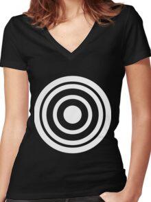 Havok Power Gauge  Women's Fitted V-Neck T-Shirt