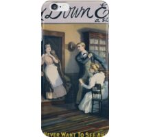 Performing Arts Posters Way down East a story about plain people 2893 iPhone Case/Skin