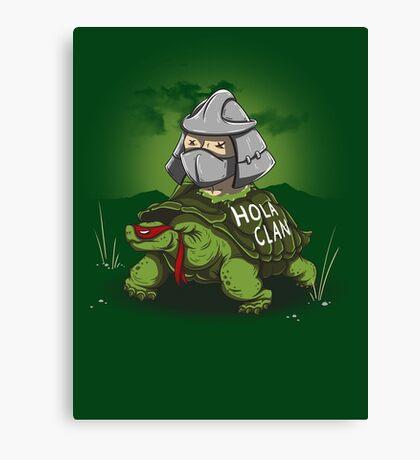 Hola Clan Canvas Print