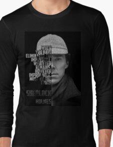 Sherlock Holems Long Sleeve T-Shirt