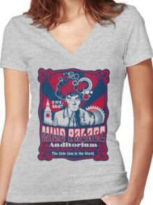 Mind Palace Auditorium Women's Fitted V-Neck T-Shirt
