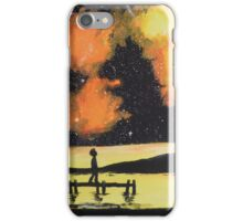 Under the sunset- colored galaxy iPhone Case/Skin