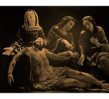 Jesus Is Removed From The Cross Photographic Print