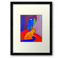 Watchful Eyes Framed Print