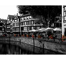 Romance along the Canal Photographic Print