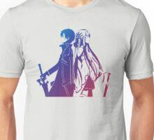 Kirito & Asuna Anime Manga Shirt Unisex T-Shirt