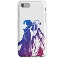 Kirito & Asuna Anime Manga Shirt iPhone Case/Skin