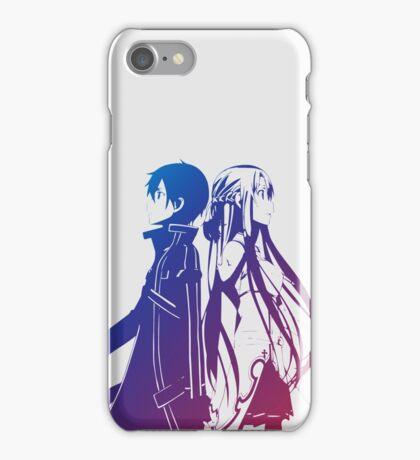 Kirito & Asuna Anime Manga Shirt iPhone Case/Skin