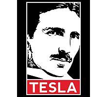 Tesla Poster Photographic Print