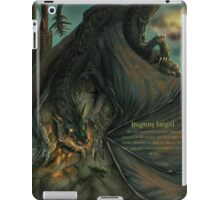 Hungarian horntail - With text version iPad Case/Skin