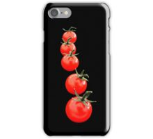 Why is a tomato round and red?  iPhone Case/Skin