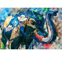 Interst-elephant Photographic Print