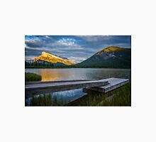 Vermillion Lakes and Mt Rundle Sunset Unisex T-Shirt