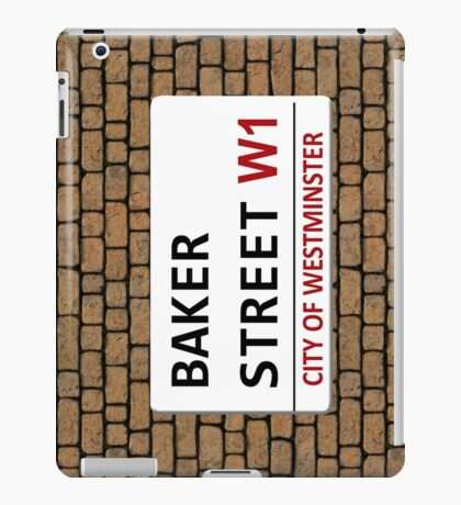 Baker Street Sign iPad Case/Skin