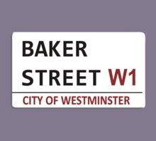 Baker Street Sign Kids Tee
