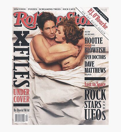 The X-Files 1996 Rolling Stone Cover Photographic Print