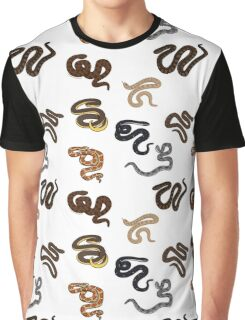 Snake Print Graphic T-Shirt
