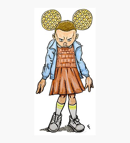 Eleven VS Minnie Mouse Photographic Print