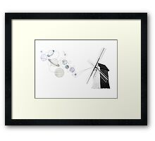 Eolic energy Framed Print