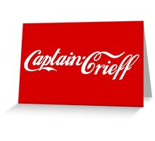 Captain Crieff Greeting Card