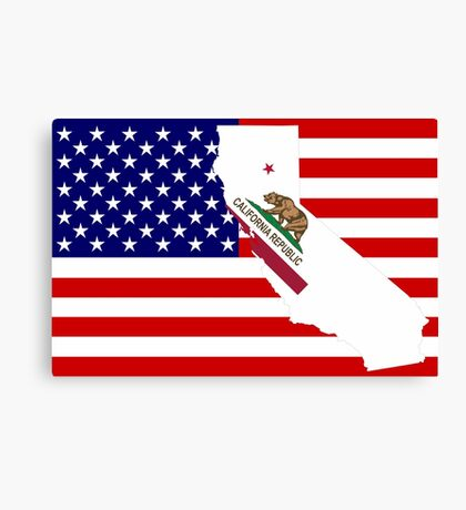 CALIFORNIA USA Canvas Print