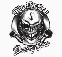 Barber Skull 3: Shaving Face by sdesiata