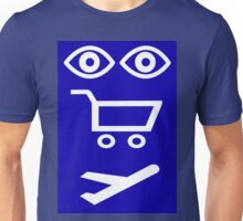 See,Buy,Fly Unisex T-Shirt