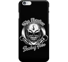 Barber Skull 2: Shaving Face iPhone Case/Skin