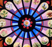 Wild Rose Window Sticker