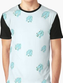 Deer Tracks in the Snow Graphic T-Shirt