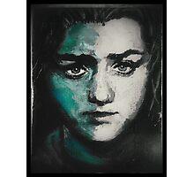 Arya Stark of Winterfell Photographic Print
