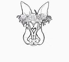 Flower Crown Bunny Unisex T-Shirt