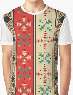 Modern Native American Pattern 2 Graphic T-Shirt