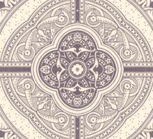 Vintage Floral Swirl Tile Sticker