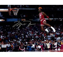 The Great Michael Jordan  Photographic Print