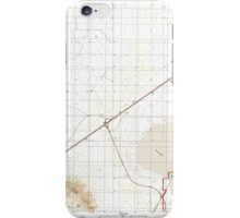 USGS TOPO Map Arizona AZ Red Bird Hills 313042 1996 24000 iPhone Case/Skin