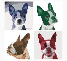 Quintet - Boston Terrier Kids Clothes