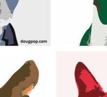 Quintet - Boston Terrier Sticker