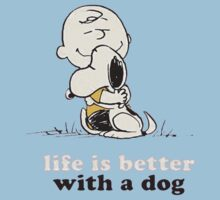 Life is Better With a Dog Kids Tee