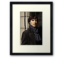 Sherlock at 221B Framed Print