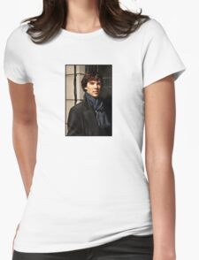 Sherlock at 221B Womens Fitted T-Shirt