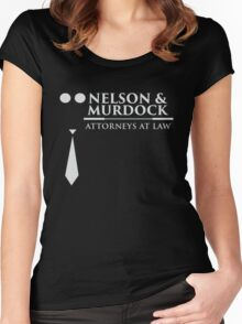 Nelson and Murdock Women's Fitted Scoop T-Shirt