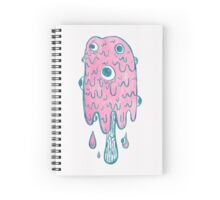 Melting Ice Cream Popsicle Spiral Notebook