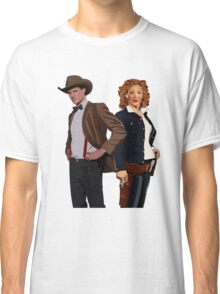 The Doctor and River Song Classic T-Shirt